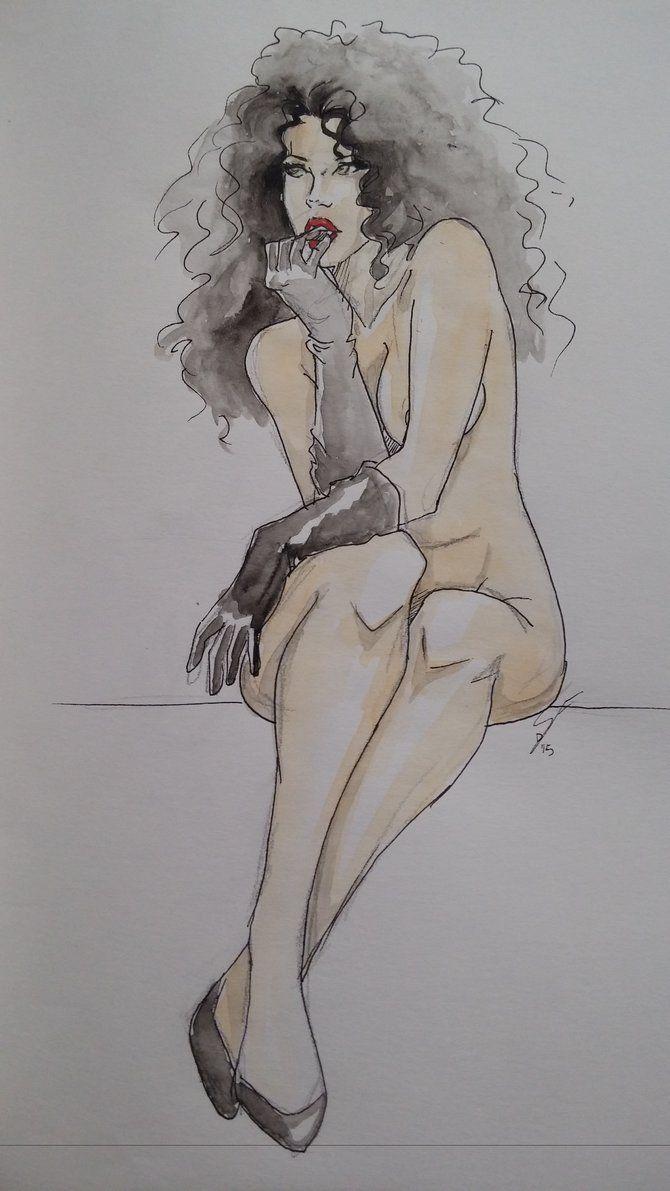 Watercolor feminine appeal