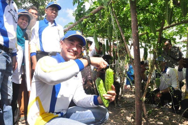 Zola : Peningkatan Pembangunan dibidang Pertanian, Kelautan harus Terpadu.