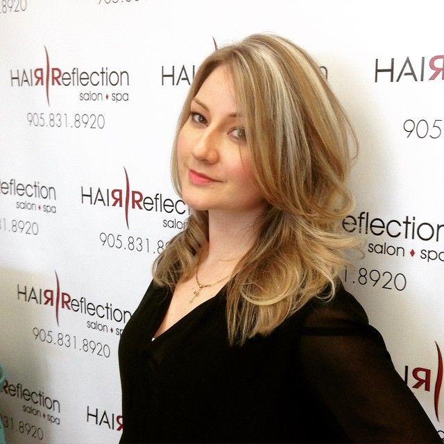 #multidimensional #blonde #highlights & #lowlights #hairbyvera #hair #hairreflection #pickering