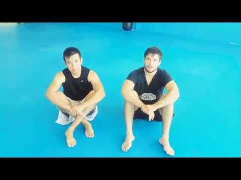 Cómo abrir la guardia cerrada de jiu jitsu - YouTube