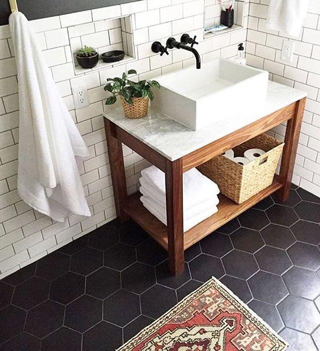 How To Make Your Room Look Spacious 7 Tiny Home Bathrooms Design Ideas That Anyone Can Do Bathroom Remodel Master Small Master Bathroom Farmhouse Bathroom Decor