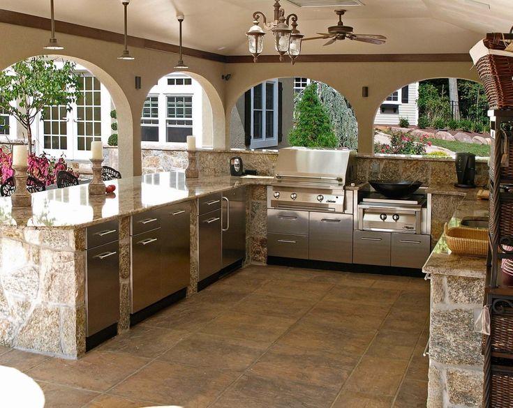 18 best outdoor kitchens images on pinterest outdoor cooking outdoor kitchens and bar seating on outdoor kitchen id=32664
