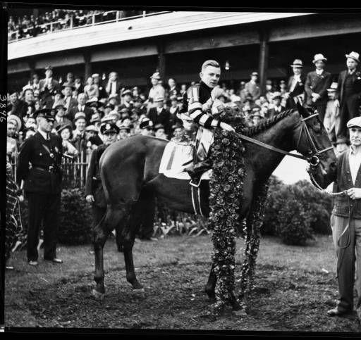 War Admiral. Kentucky Derby & Triple Crown winner, Churchill Downs, Louisville, Kentucky, 1937. :: Royal Photo Company Collection