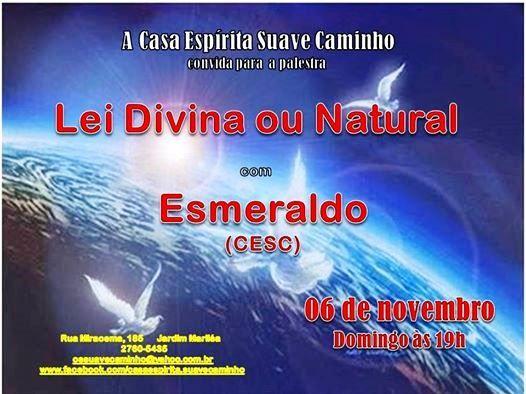 A Casa Espírita Suave Caminho Convida para a sua Palestra Pública - Rio das Ostras - RJ - http://www.agendaespiritabrasil.com.br/2016/11/06/casa-espirita-suave-caminho-convida-para-sua-palestra-publica-rio-das-ostras-rj-47/