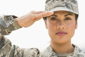 Portrait of female army soldier - Tetra Images/Brand X Pictures/Getty Images
