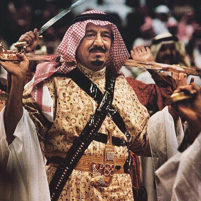 King Salman  The king of Saudi Arabia