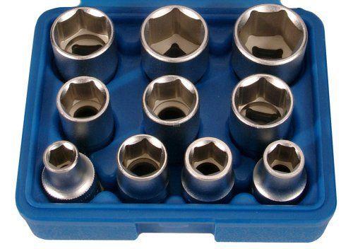 'BGS–clé à douille Chrome Vanadium 6182,4cm de 12,5mm 1/2Lot de 10: Price:20.18Jeu de douilles 12.5 (1/2), pouces, 10-pc. Frequently…