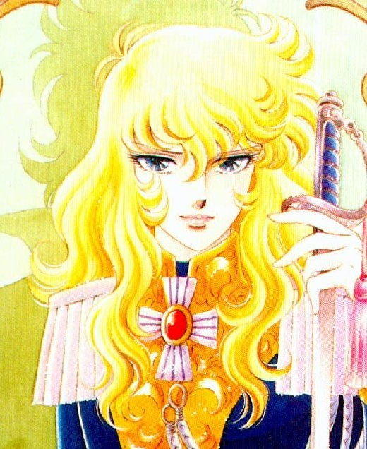 - Lady Oscar Madame Du Barry used to call her Austrian woman with carrot hair to make Marie Antoinette sad but other people used to love her for her golden hair too... Marie Antoinette acted as BLOND!!!!