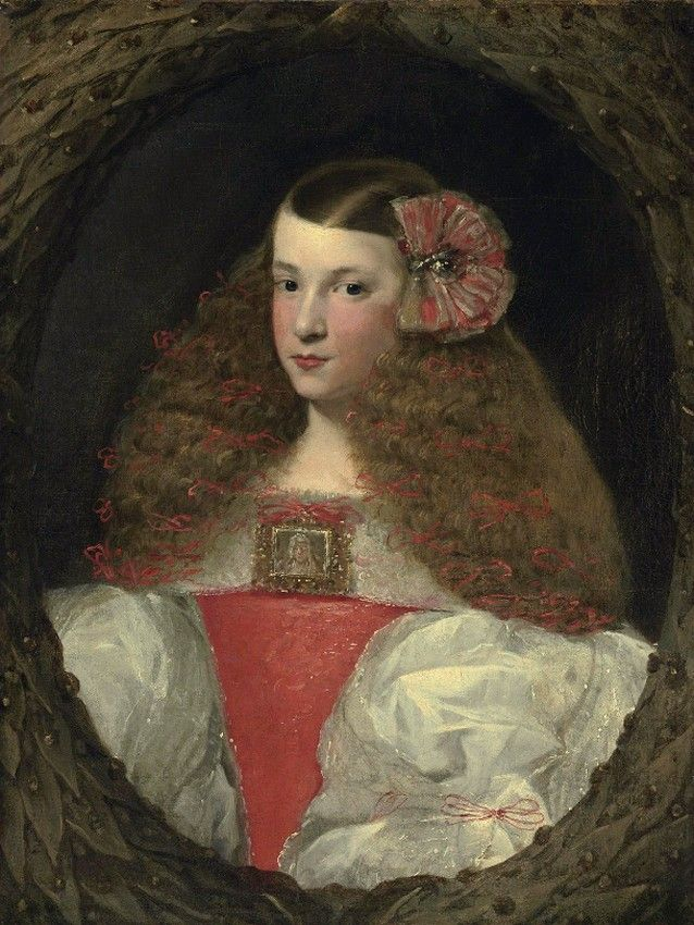 Attributed to Sebastián Herrera Barnuevo (1619-1671)  —  Portrait of a Young Girl (638x850)