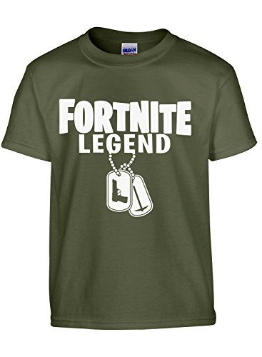 c2e4a1db Asher's Apparel Fortnite Legend Gaming Youth T- Shirt | 75 Epic ...