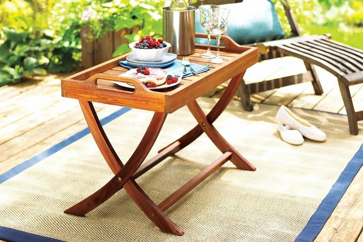Table-tray | Woodworking | Pinterest | Table tray ...