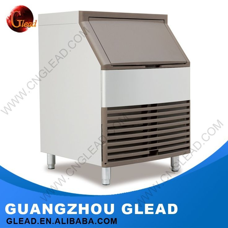 Stainless Steel Cube or Flake Heavy Duty industrial ice cube making machine