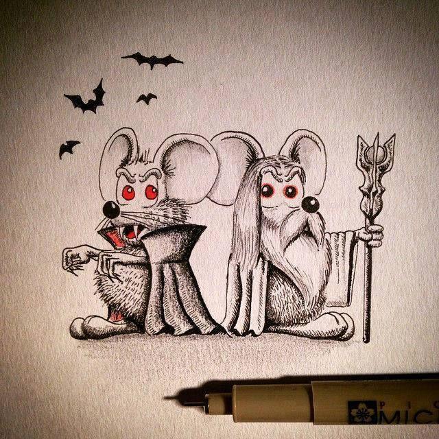 Mini-Drawings by Apredart.