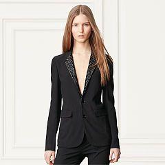 Yvette Hand-Beaded Jacket - Collection Apparel Blazers - RalphLauren.com