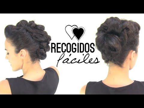 17 best images about belleza peinados on pinterest - Como hacer peinados faciles ...