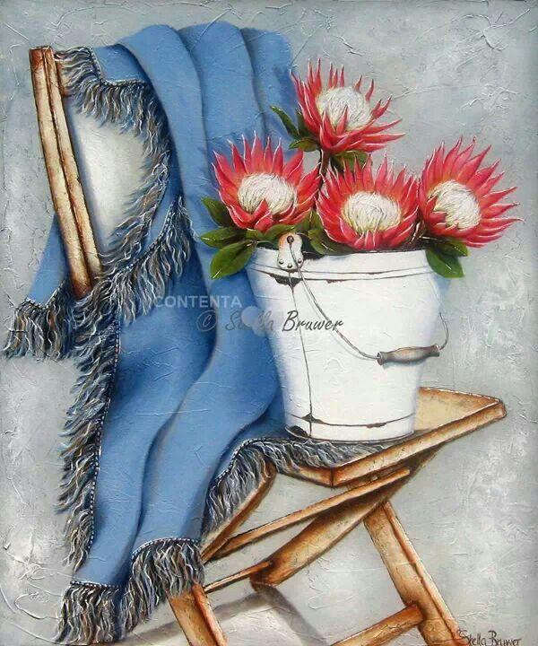 ✿Bouquet & Full Of Flower Basket✿ Stella Bruwer