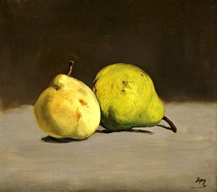 Two Pears, 1864 / Edouard Manet