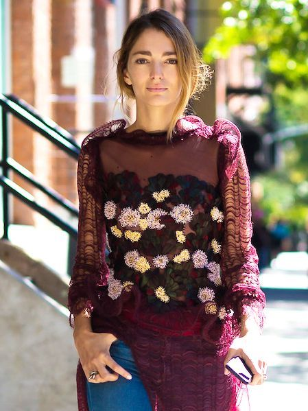 We're Loving These 9 Embroidered Must-Haves via @WhoWhatWear