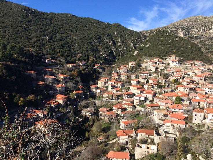 Στεμνίτσα #winter #greece