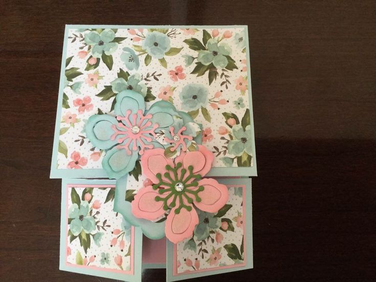 Double Dutch fold card made by Michelle Shedoudy