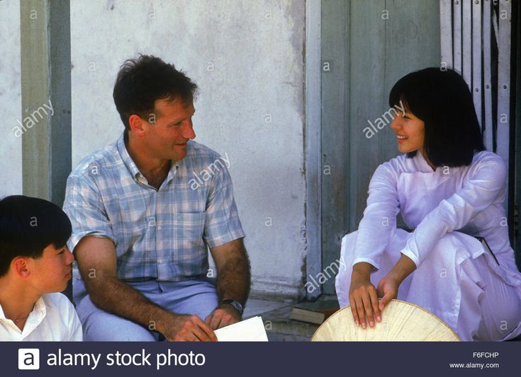Download this stock image: Dec 23, 1987; BANGKOK, Thailand; Actor ROBIN WILLIAMS stars as A2C Adrian Cronauer in 'Good Morning Vietnam.' - F6FCHP from Alamy's library of millions of high resolution stock photos, illustrations and vectors.