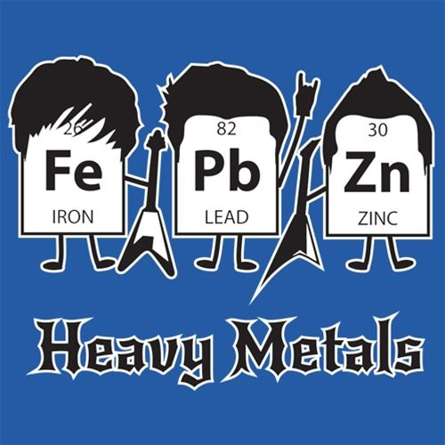 Heavy Metals (Periodic Table) T-Shirt