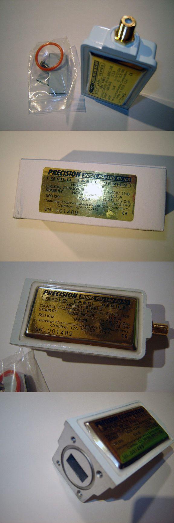 Satellite LNB Downconverters: Astrotel Model Pmj-Lnb Ku High Stability 500Khz 10750 Ku Band Lnb Bud Dish Fta BUY IT NOW ONLY: $59.0