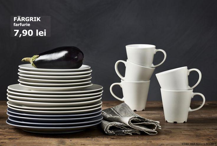 Fii tot timpul pregătit pentru mai mulți invitați la masă. Până pe 21.05.2017 toate farfuriile noastre au o reducere de până la 25%. Inspirație pentru zilele de vară: www.IKEA.ro/Vara_in_aer_liberOferta este valabilă în perioada 01-21 mai, pentru membrii IKEA FAMILY, în limita stocului disponibil.