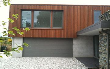 random width and depth cedar  cladding