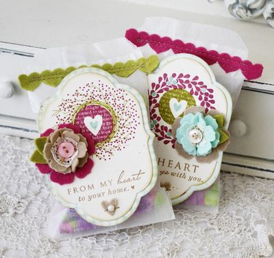 omgosh! love, love it!Valentine Treats, Sweets Valentine, Melissa Phillips, Treats Bags, Sweets Treats, Sweet Treats, Small Gift, Stamps Sets, Gift Card Holders