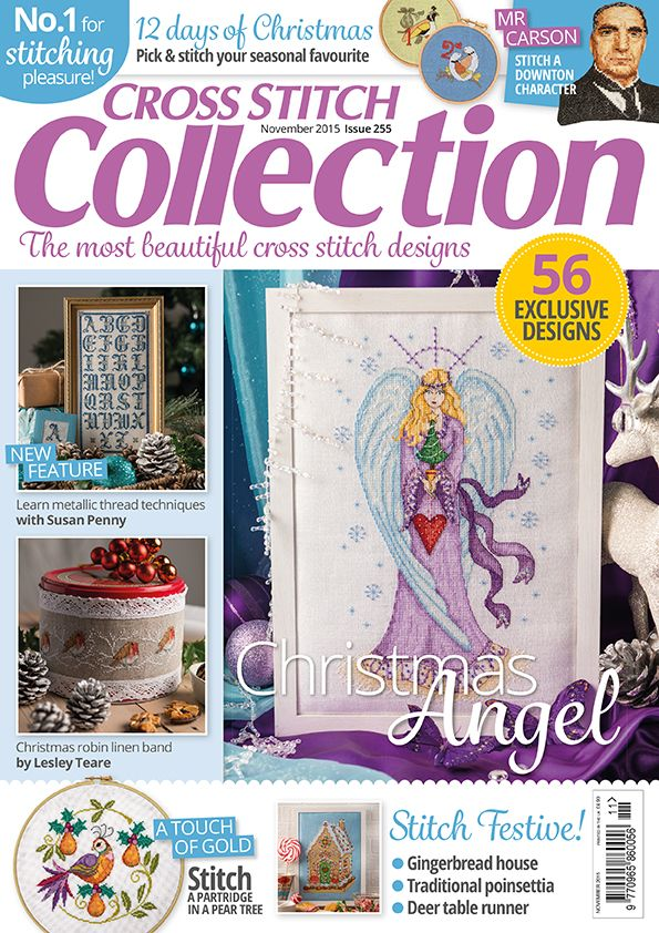 Cross Stitch Collection issue 255