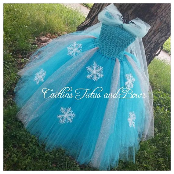 Elsa tutu dress ice queen tutu elsa tutu by CaitlinsTutusandBows
