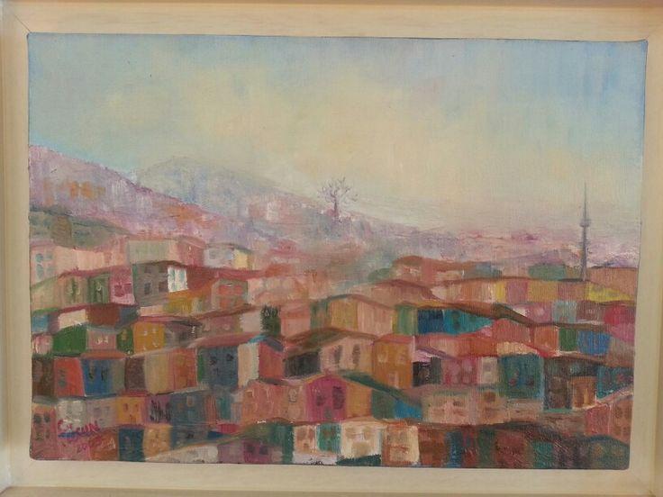 Oil on canvas_Fusun Ogreten