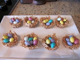 Super Easy Easter Nests