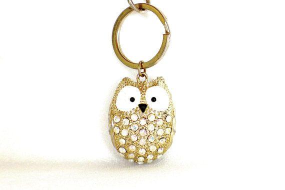Beautiful Owl Pendant Keychain