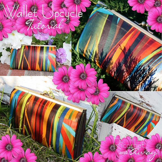Looky here. Easy recover thrift store wallet or purse.