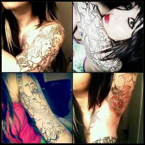 341 best disney tattoos images on pinterest disney for Tattoo corpus christi