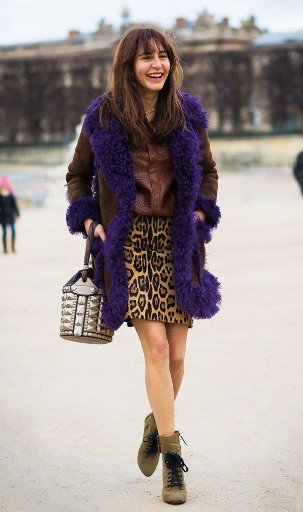 While a basic neutral skirt is great, imagine how elevated your look will feel with a leopard iteration?