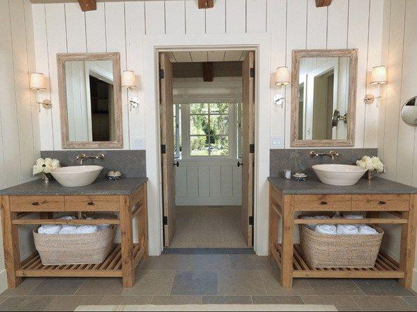 bathroom vanity farmhouse style | show home design