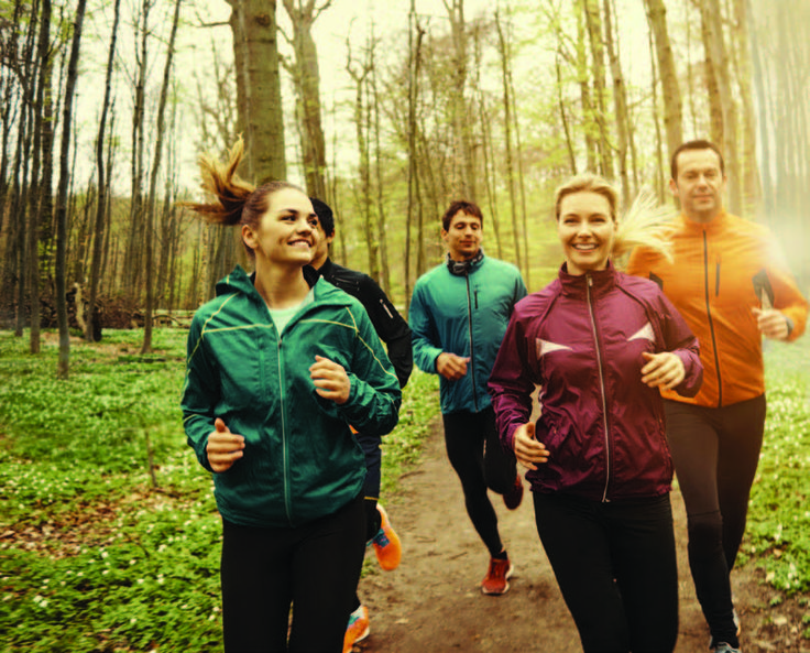 Know how to knock out two big goalswith one stone? Run your first 5K while…