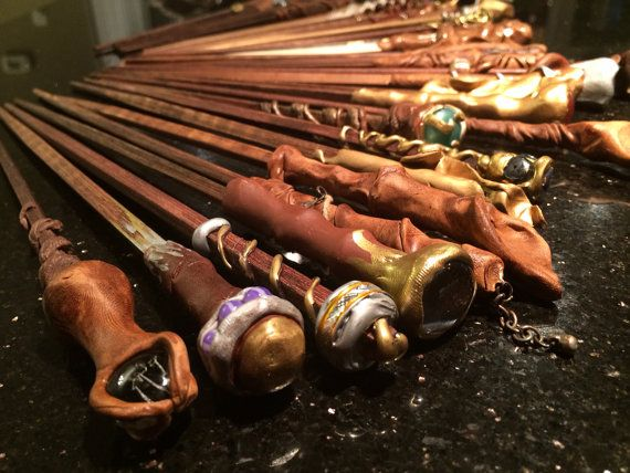 Harry Potter wands CUSTOM assorted party favors wedding ...