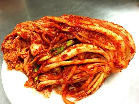 The Best Korean Kimchi Recipe 韓國泡菜, The National Dish of Korea! - YouTube by Cici's Food Paradise
