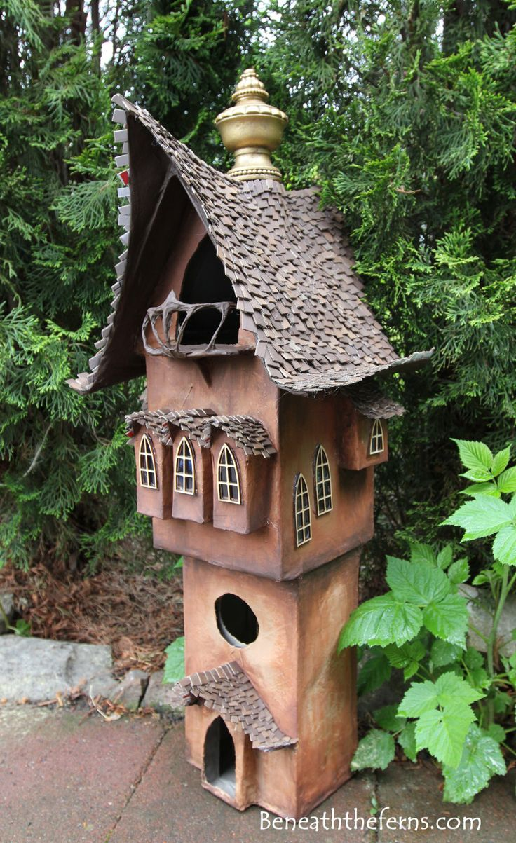 17 Best Images About Polymere Clay Fairy Houses On