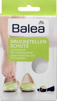 Gegen Reibung und Scheuern: Balea Druckstellenschutz. Die unsichtbaren, ultradünnen Mini-Gel-Polster schützen alle empfindlichen Stellen am Fuß - zur sofor...