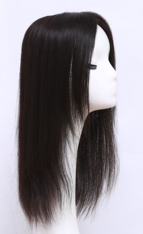 How to deal with hair loss or thinning hair among women,the best hair loss remedy,dark black color loose wavy human hair toppers for women are just for your selection and 2017 newest hairstyle! We offer hairpieces for thinning hair on top here.Use the Medium Top to add fullness and volume instantly, cover undesirable roots, and much more!Blonde,Brown,balayage,caramel,highlights,lowlights,mixed hair colors,This top piece attaches with 4 metal wig clips; these clips will stay in...