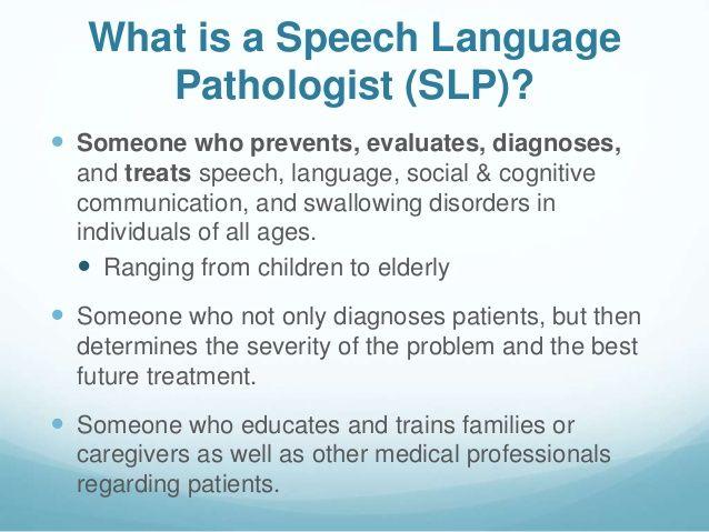 Best Speech Language Pathology Images On   Speech
