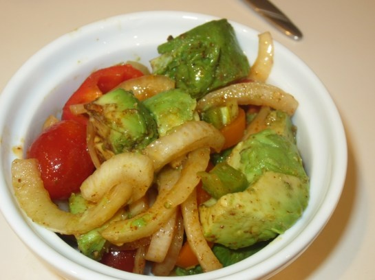 SCD Roasted Garlic Guacamole Salad | Grain-free Recipes | Pinterest