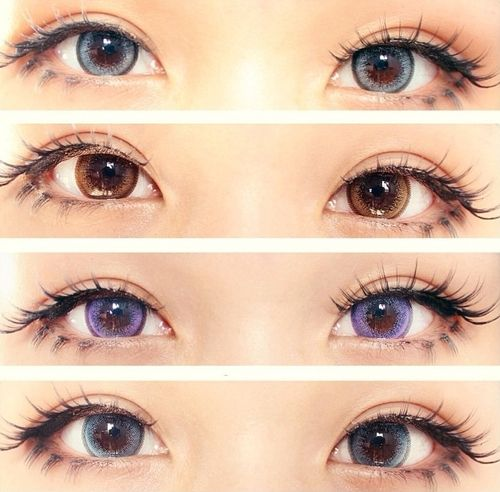 GEO Wing Series colored contact lenses (circle lens) - http://www.eyecandys.com/wing-series-14-0mm/