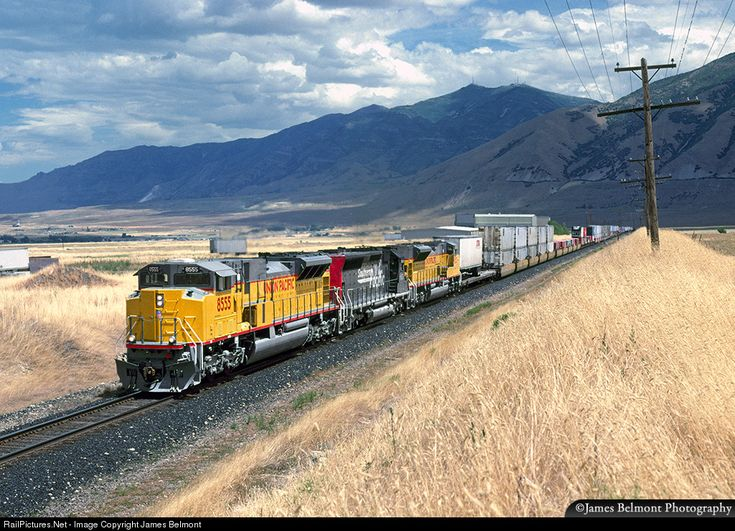 RailPictures.Net Photo: UP 8555 Union Pacific EMD SD90MAC-H at Tooele, Utah by James Belmont