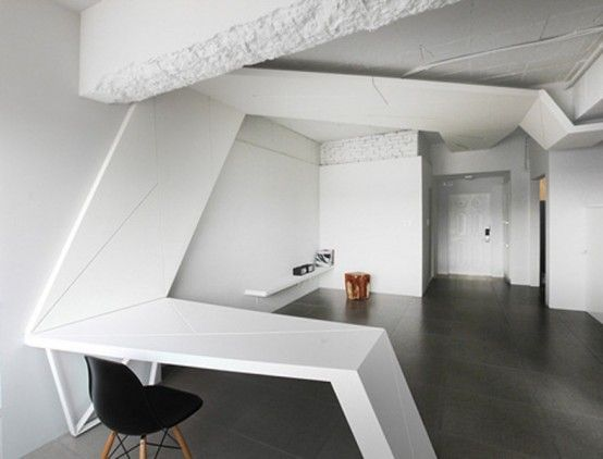 Futuristic Apartment With Wings In Its Design